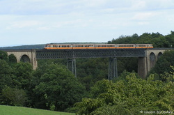 RTG T2002-T2049 on Bellon's viaduct.