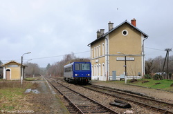 X2207 at Coussac-Bonneval.