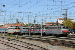 BB9310, BB7206, BB9320 and BB9312 at Toulouse-Matabiau.