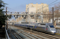 TGV POS 4403 at Lyon.