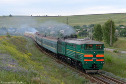 3TE10M-1246 and D1-694 at Dobrogea.