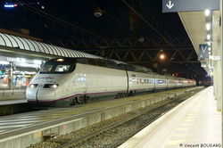 TGV AVE 20 at Lyon-Part-Dieu.