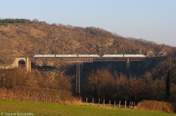 X72500 on Rouzat's viaduct.