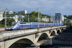 TGV Duplex 4727 at Lyon.