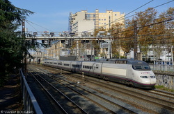 TGV AVE 15 at Lyon.